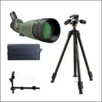 Kit digiscopie longue vue 25-75x100 WP Digital Optic avec trépied Vanguard et adaptateur photo