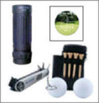 Set de golf avec télémètre GOLFSCOPE 8x21 de DIGITAL OPTIC