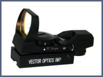 DIGITAL OPTIC Viseur Point Rouge VECTOR SCREENSIGHT PR